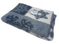 """Одеяло из мериносовой шерсти тканое """"Снежинка"""""""