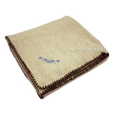 Одеяло из шерсти и льна ЭКО 140х205 - фото 4503