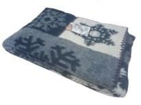 """Одеяло из мериносовой шерсти тканое """"Снежинка"""" - фото 5431"""