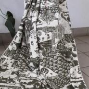 Одеяло байковое    140х205 сельский пейзаж (хаки) - фото 6644