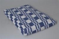Одеяло байковое (синяя клетка).